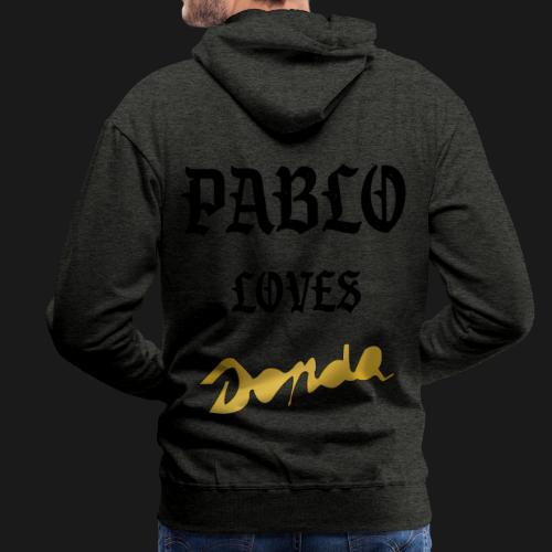 Pablo loves Donda - Sweat-shirt à capuche Premium pour hommes
