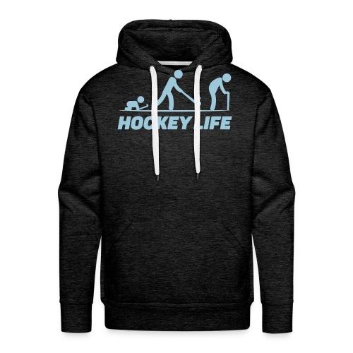 Hockey Life - Sweat-shirt à capuche Premium pour hommes