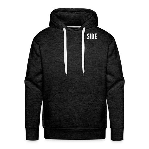 SIDE Logo_White - Men's Premium Hoodie