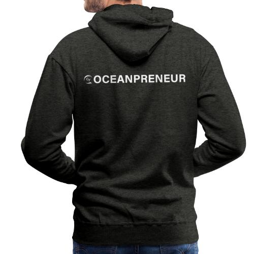 oceanpreneuer white - Männer Premium Hoodie