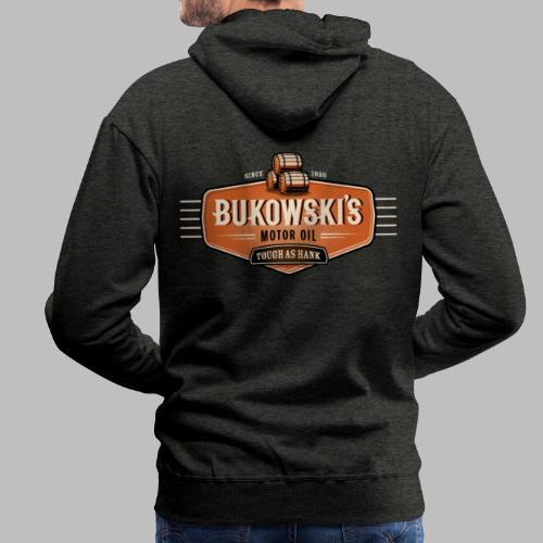 Bukowski's Motor Oil - Männer Premium Hoodie