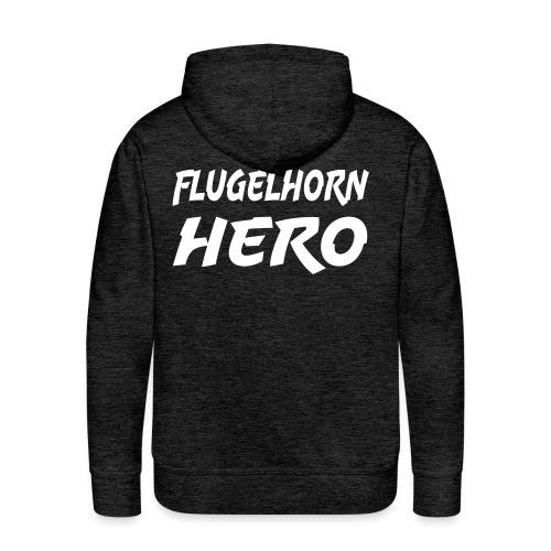Flugelhorn Hero - Premium hettegenser for menn