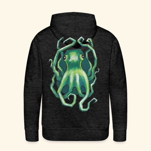 Grön bläckfisk - Premiumluvtröja herr