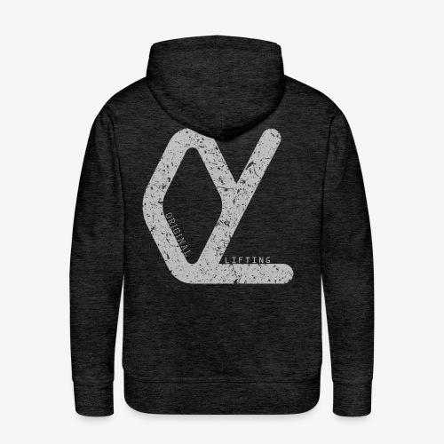 OriginalLifting - Sweat-shirt à capuche Premium pour hommes