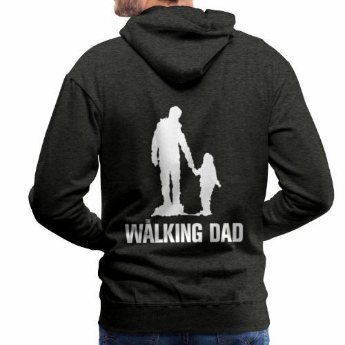 Walking Dad, Rahmen - Männer Premium Hoodie