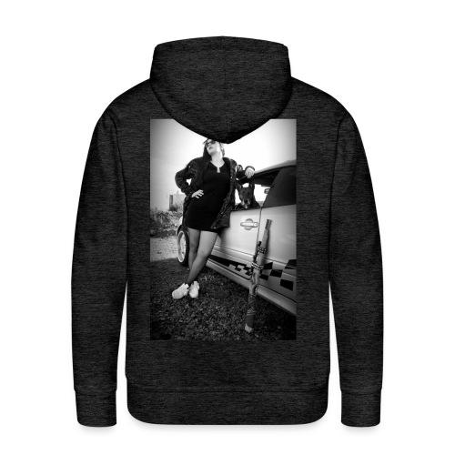 HELLSTARZ ALICIA I - Sweat-shirt à capuche Premium pour hommes