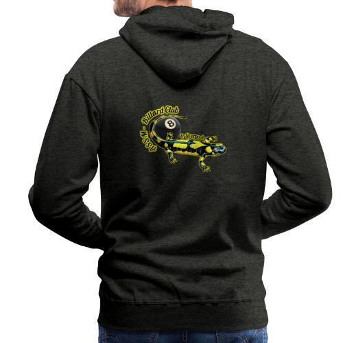 Logo ASSM Billard - Sweat-shirt à capuche Premium pour hommes