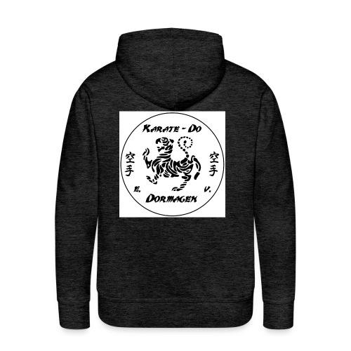 KDD Logo schwarz jpg - Männer Premium Hoodie