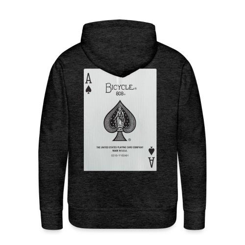 L'AS DE PIQUE - Sweat-shirt à capuche Premium pour hommes