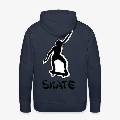 skate - Mannen Premium hoodie