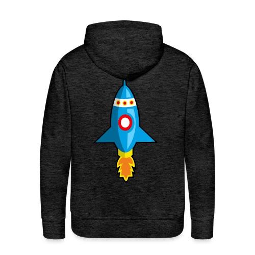 Nave espacial infantil. - Sudadera con capucha premium para hombre