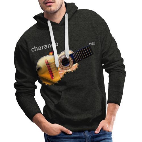 Charango - Sudadera con capucha premium para hombre