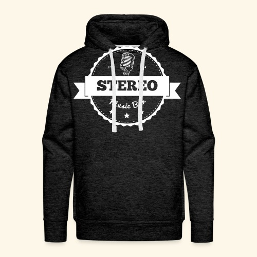 Stereo Retro Design - Männer Premium Hoodie
