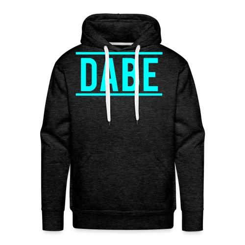 Dabeblau png - Männer Premium Hoodie