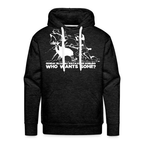 WWS TRANS vectorized XXL WHITE - Men's Premium Hoodie