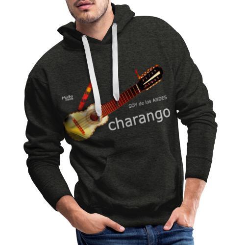 De los ANDES - Charango II - Sudadera con capucha premium para hombre