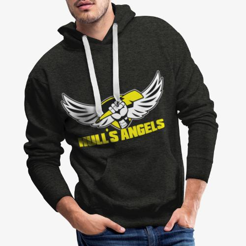 Hull's Angels Logo - Front and Center - Men's Premium Hoodie