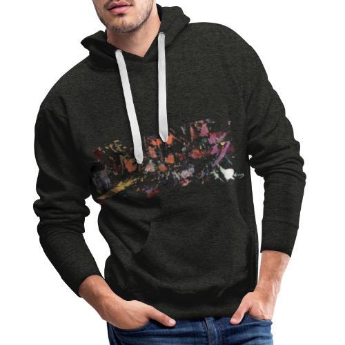 Cosmic Explosion - Sweat-shirt à capuche Premium pour hommes