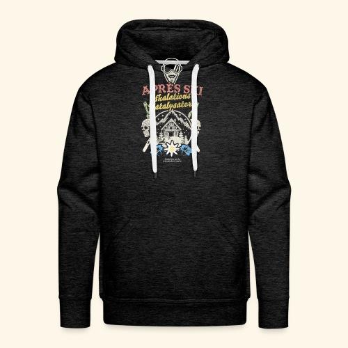 Apres Ski Eskalations-Katalysator T Shirt Design - Männer Premium Hoodie