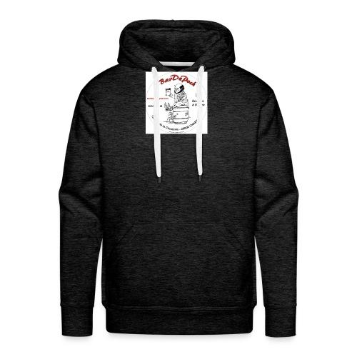 sticker bar jpg - Sweat-shirt à capuche Premium pour hommes