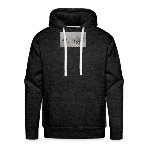 avions de chasse fr - Sweat-shirt à capuche Premium pour hommes
