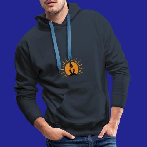 Guramylife logo black - Men's Premium Hoodie