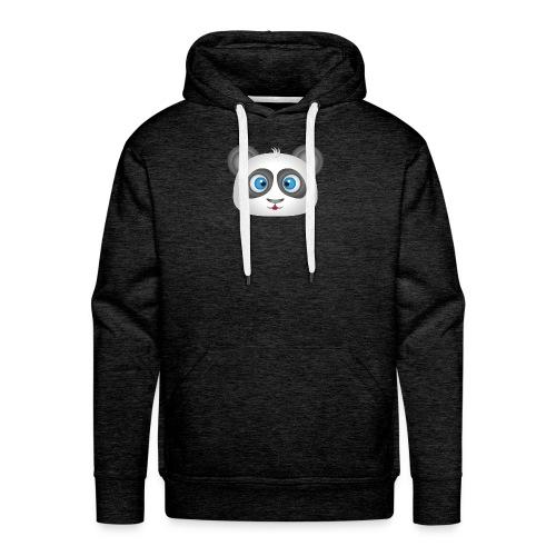 panda head / cabeza de panda 2 - Sudadera con capucha premium para hombre