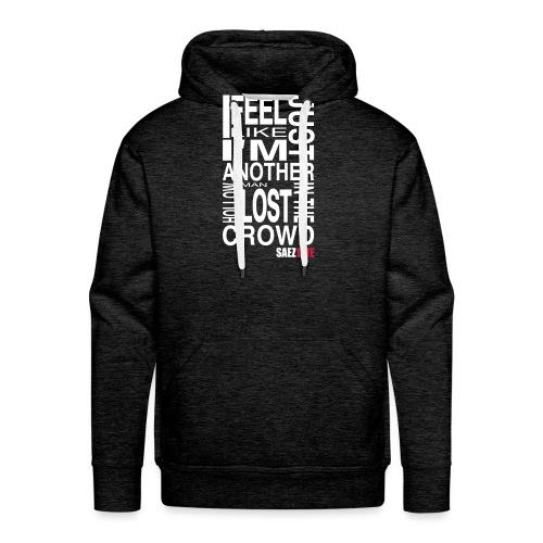 White Noise (version light, par parek) - Sweat-shirt à capuche Premium pour hommes