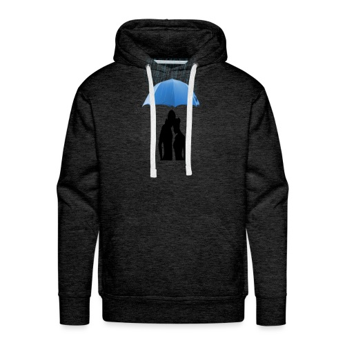 Love under the umbrella - Mannen Premium hoodie