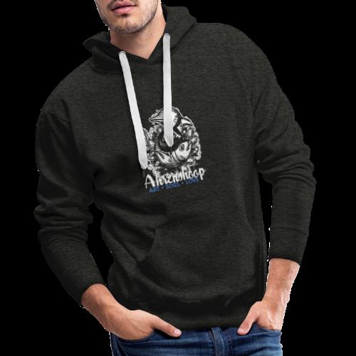 geweihbär Ahrenshoop 2018 - Männer Premium Hoodie