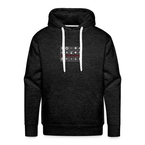 T-Shirt 14 & ONE Electronic Sounds - Geschenkidee - Männer Premium Hoodie