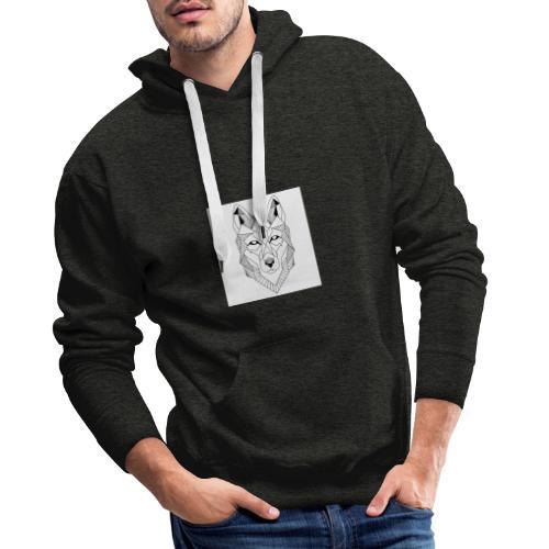 Wolf - Männer Premium Hoodie