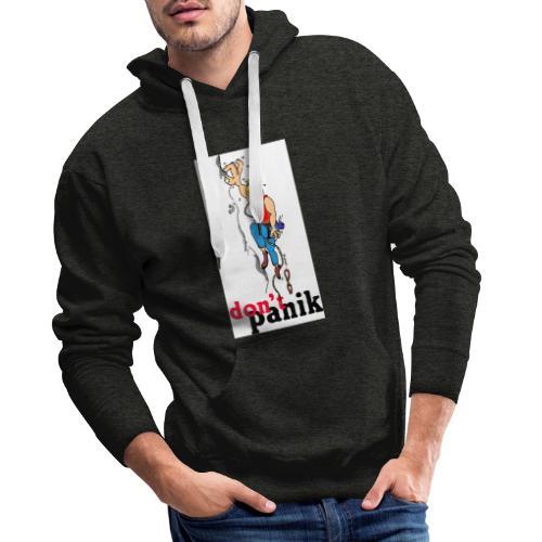 kletterer shirt kl - Männer Premium Hoodie