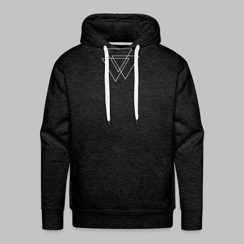 triangles Valknut - Men's Premium Hoodie