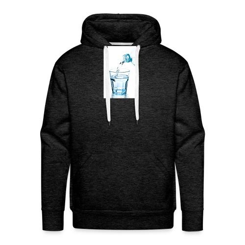 Glas-water-jpg - Mannen Premium hoodie