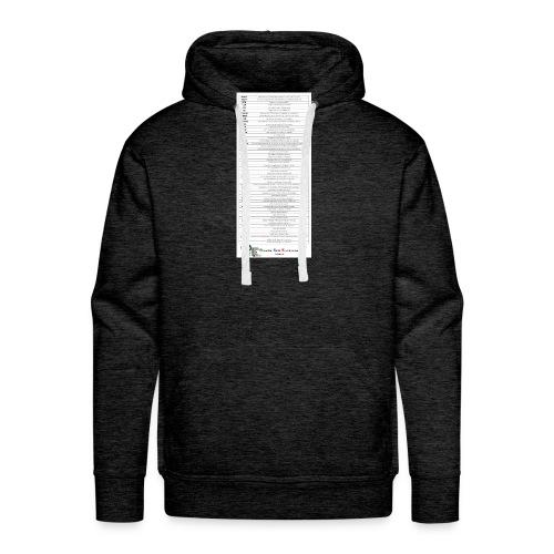PSE lexique - Sweat-shirt à capuche Premium pour hommes