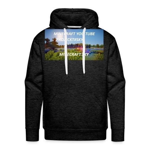 MINECRAFT SKY - Männer Premium Hoodie