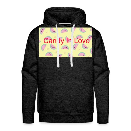 Merchandise Candy In Love - Mannen Premium hoodie