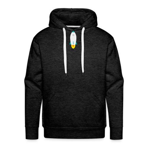 rocket - Sudadera con capucha premium para hombre