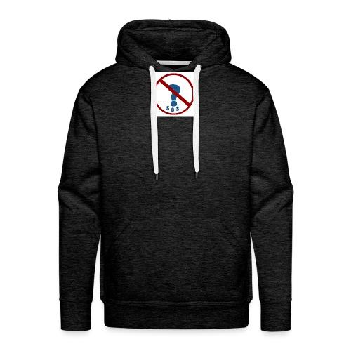 Logo SOS Mystères - Sweat-shirt à capuche Premium pour hommes