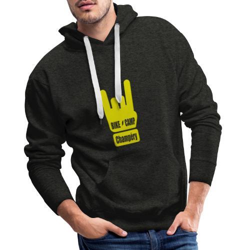 Bike Camp - Champéry - Sweat-shirt à capuche Premium pour hommes