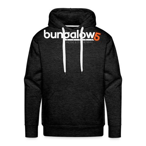 logo bungalow5 2016 over - Männer Premium Hoodie