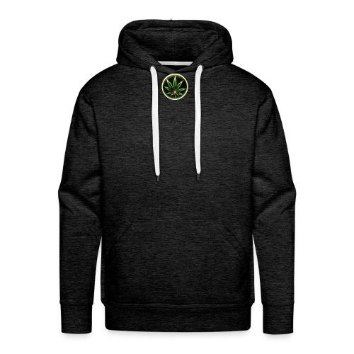 cannabis-vue-densemble - Sweat-shirt à capuche Premium pour hommes