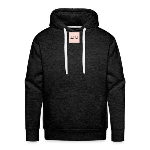 PATIENCE - Sweat-shirt à capuche Premium pour hommes