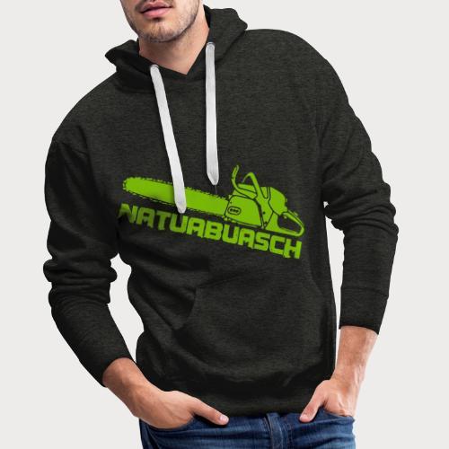 Natuabuasch Motorsäge - Männer Premium Hoodie