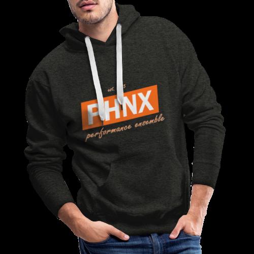 PHNX /#orange/ - Männer Premium Hoodie