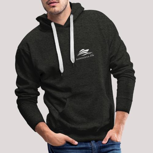 Logo weiss - Männer Premium Hoodie
