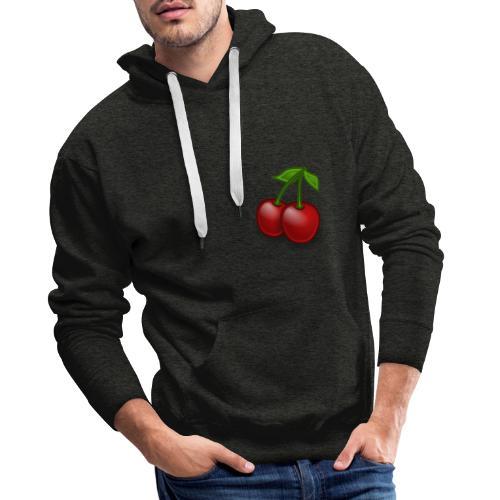 Kirschen Früchte Obst Geschenkidee - Männer Premium Hoodie