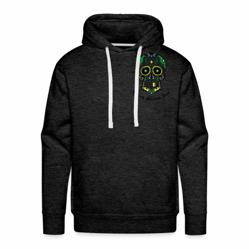 Fightness Skull - Sweat-shirt à capuche Premium pour hommes
