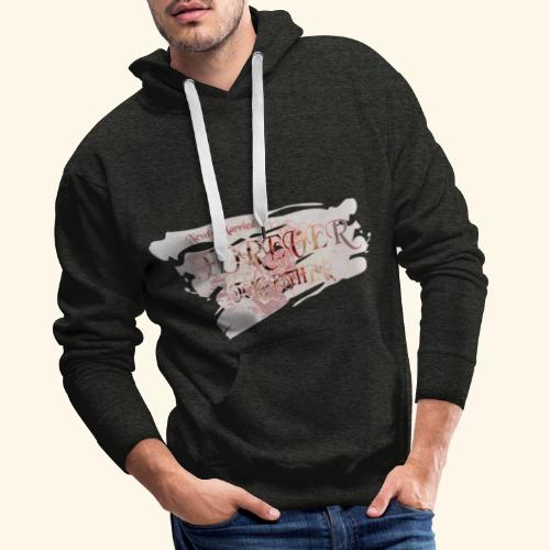"""Newly married together forever """"weddingcontest"""" - Men's Premium Hoodie"""